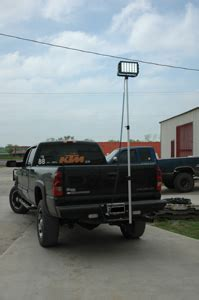 truck mounted work lights high power trailer hitch mounted led work lights