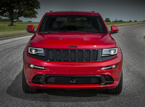 red jeeps jeep grand cherokee wk2 2015 srt8 red vapor edition