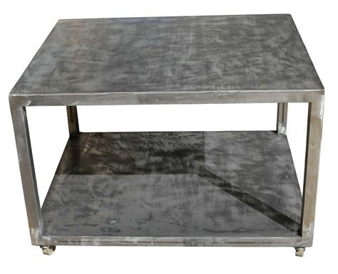 Metal Industrial Coffee Table Coffee Tables Mortise Tenon
