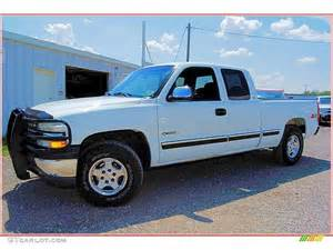 1999 summit white chevrolet silverado 1500 ls extended cab