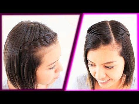 hairstyles for short hair patry jordan peinados f 225 ciles para cabello corto peinado con trenza
