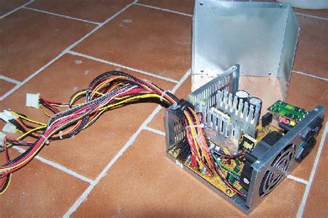 trasformare alimentatore pc in alimentatore da banco alimentatore fai da te electroyou