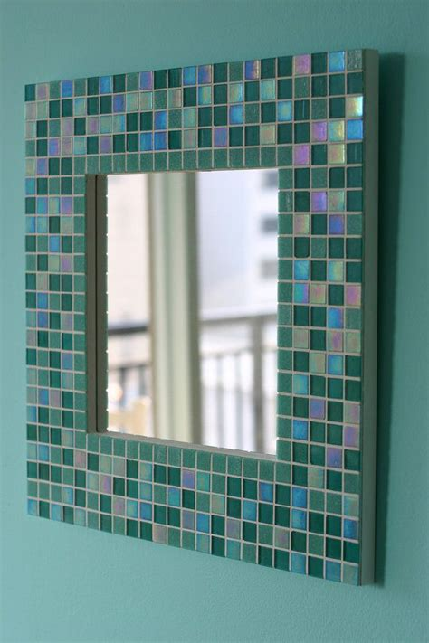 blue mosaic bathroom mirror 40 blue glass mosaic bathroom tiles tile ideas and pictures
