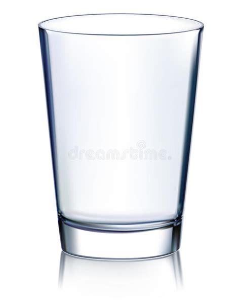 glass vector empty glass vector illustration stock vector