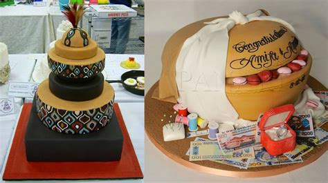 Traditional Wedding Cakes by These Ghanaian Traditional Wedding Cakes Are Spectacular