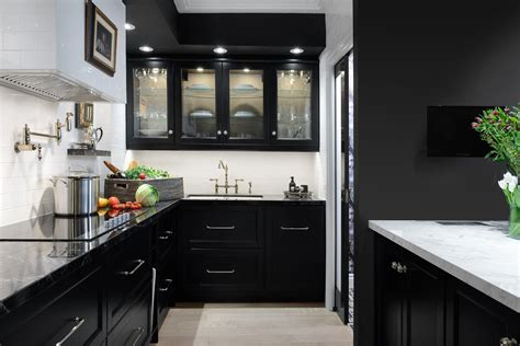 black cupboards kitchen ideas black kitchen cabinets 10 cabinet ideas cabinetry and