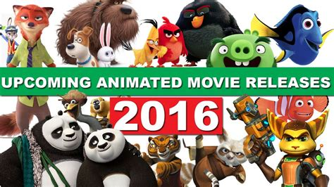 recommended film releases upcoming animated movie releases 2016 youtube