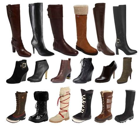 boots types most types of footwear for fashion health