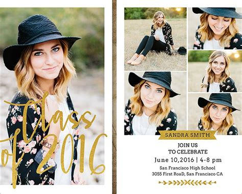 graduation announcement templates 26 graduation invitation templates free word designs