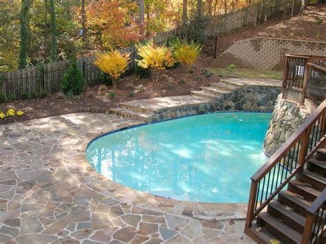 backyard makeover with pool before after big backyard makeovers landscaping ideas