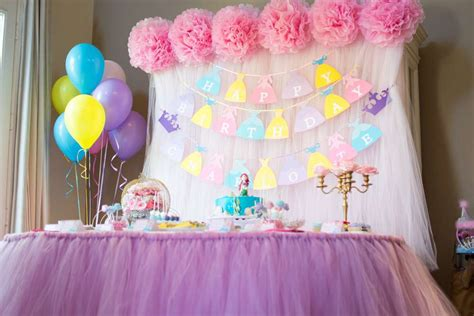 disney princess birthday ideas photo 5 of 33