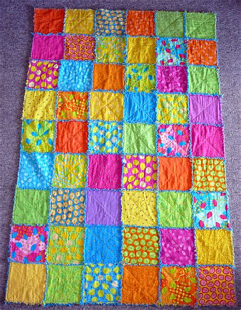 Raggedy Quilt by Patchy Work Of Mini Grey Sew Along Raggedy Edges Quilt