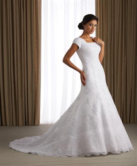 simple modest wedding dress ipunya