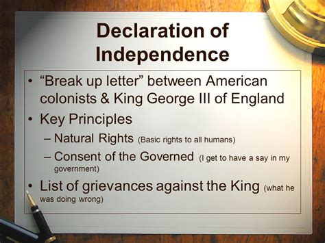 declaration of independence breakup letter 28 declaration of independence up letter