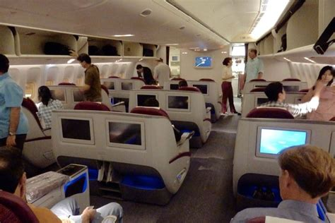 American Airlines Comfort Seats Qatar Airways Business Class Review On Boeing 777 300er