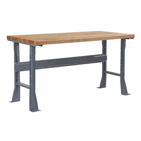 work bench legs edsal 32 in h x 36 in w x 4 in d flared fixed height steel work bench legs 5710