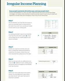 Free Budget Template Dave Ramsey by Irregular Income Budget Dave Ramsey Budget Templates