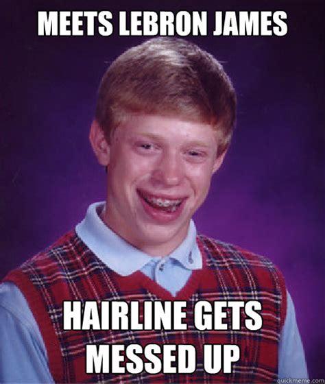Messed Up Memes - bad hairline jokes memes