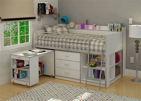 size loft bed with desk and storage awesome loft beds with desk and storage design decofurnish