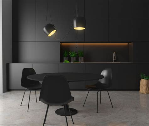 kitchen chair ideas 36 stunning black kitchens that tempt you to go for
