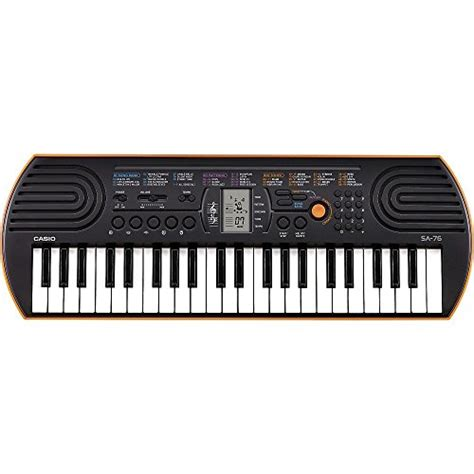 Keyboard Casio Sa 76 casio sa 76 44 key mini keyboard orange in the uae see prices reviews and buy in dubai abu