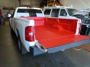 white bed liner spray rhino linings of delaware pick up truck spray on bed
