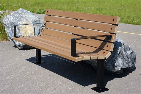 custom benches 100 park benches empty park benches in field stock