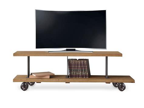 Fresno Sofa Muebles Tv Estilo Industrial Con Ruedas