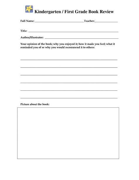 17 best images of book report worksheet 2nd grade 2nd