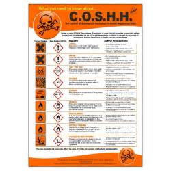 c o s h h regulations poster
