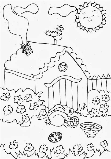 dibujos para pintar en guardapolvo de egresados jardin colorea tus dibujos dibujo de un jard 237 n en un d 237 a soleado