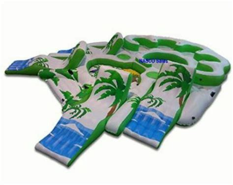 minecraft inflatable boat used normal wear inflatable raft party boat lake river