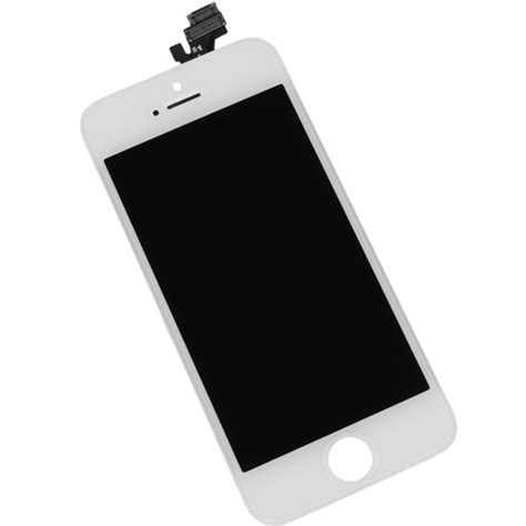 Lcd Iphone 5 White iphone 5 digitizer lcd screen assembly white