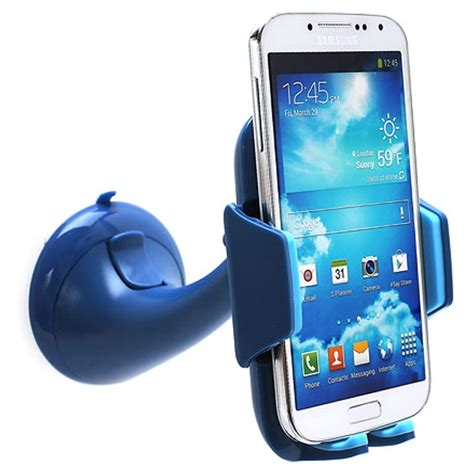 Universal Car Holder For Smartphone 1 universal smartphone car holder blue