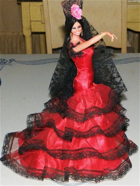 Vintage Neweys La Poupee Made In Kancing Kancing Celana 17 best images about flamenco dolls on