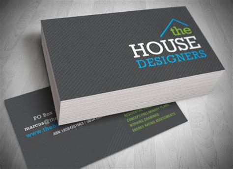 house design business cards business card design and printing gold coast
