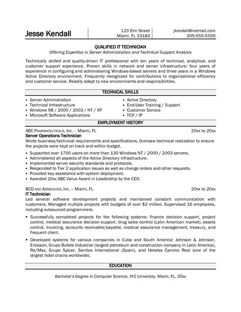 technical support engineer resume samples visualcv