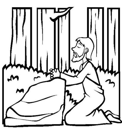 coloring pictures of jesus praying jesus praying coloring pages on the mountainside coloring