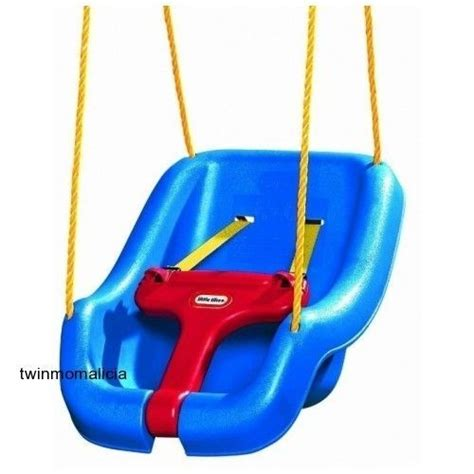 baby swing outdoor little tikes little tikes 2 in 1 snug n secure swing blue for kids 9