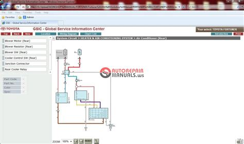 toyota fortuner electrical wiring diagram manual torzone org
