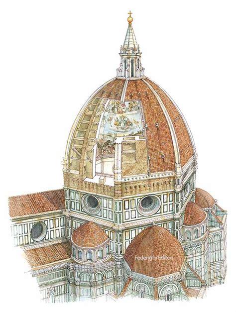 la cupola di brunelleschi la cupola di brunelleschi firenze formato piccolo