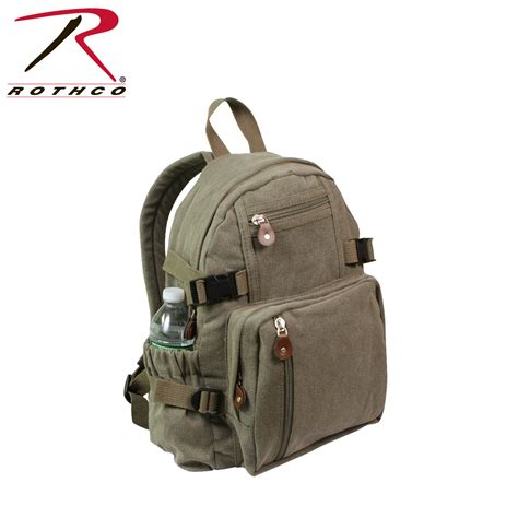 Tas Travel Bag Kanvas Mini Pony rothco vintage canvas mini backpack