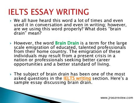 Brain Drain In India Essay ielts essay writing tips pdf ielts ielts preparation for free