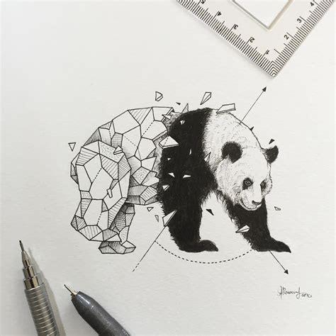 los mejores dibujos de animales intrincados dibujos de animales que se funden con figuras