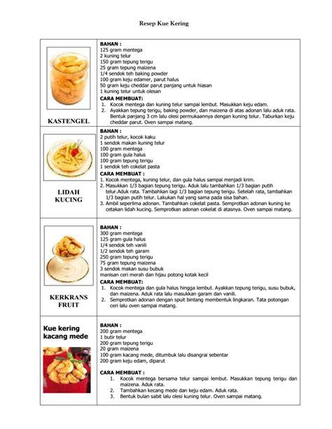 Buku Resep Kue Kering Ncc buku resep kue kering