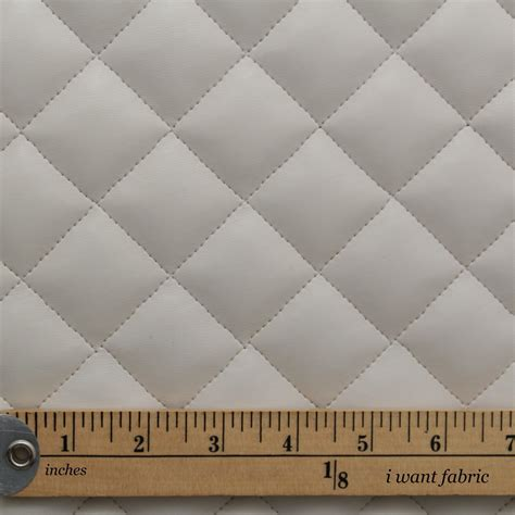 interior upholstery fabric quilted leather faux leather diamond padded cushion