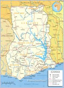 Ghana World Map by Rising Through Cities A Look At Ghana Africa Research