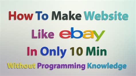 how to create a website tutorial for beginners youtube complete tutorial creating a ecommerce website in 50