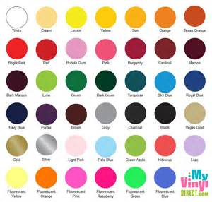 siser easyweed color chart siser easyweed heat transfer vinyl my vinyl direct