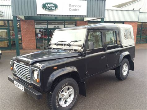 used land rover defender used black land rover defender for sale gloucestershire